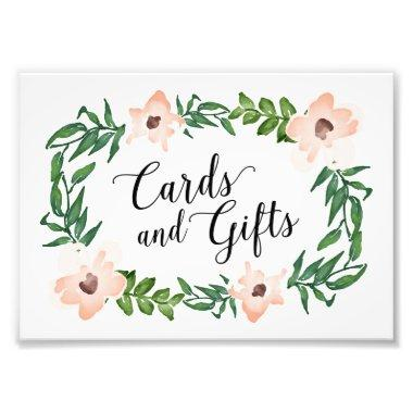 Romantic Vines  and Gifts Print