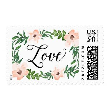 Romantic Vines Love Postage