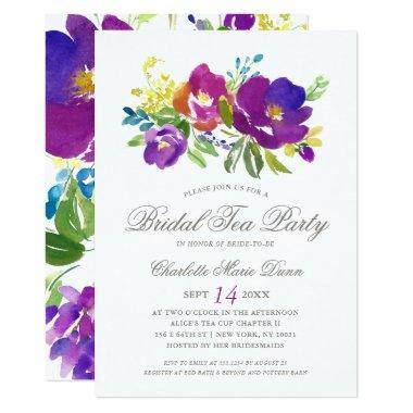 Romantic Violet Floral