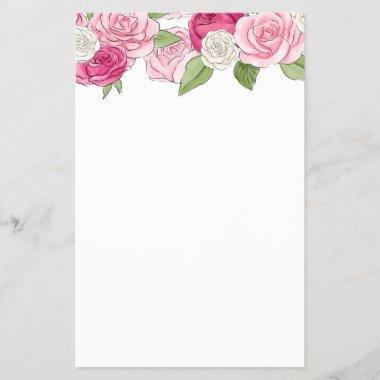 Rosé Garden | Blank  Game Sheet