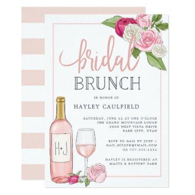 Rosé Garden | Bridal Brunch Invitations