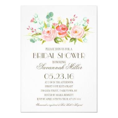Rose Garden | Bridal Shower Invitations