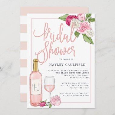 Rosé Garden | Bridal Shower Invitations