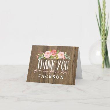 Rose Garden | Bridal Shower Thank You Invitations