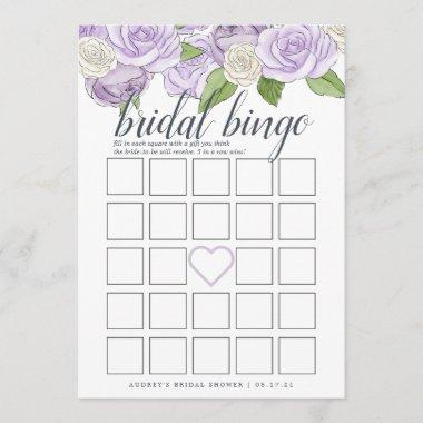 Rosé Garden Double-Sided Bridal Shower Game