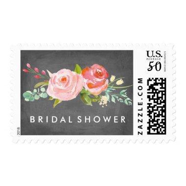 Rose Garden Floral  Postage Stamp