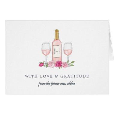 Rosé Garden Personalized Thank You