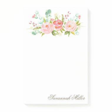 Rose Garden Post-it Notes