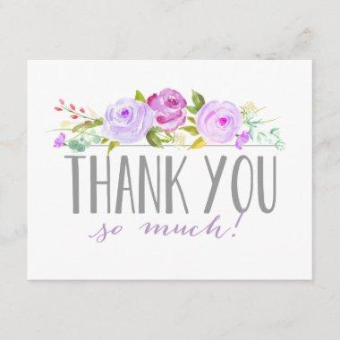 Rose Garden Purple | Thank You