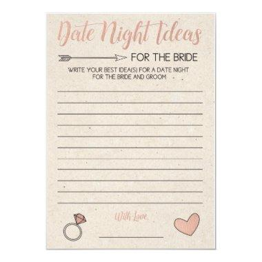 Rose Gold  Game- Date Night Ideas