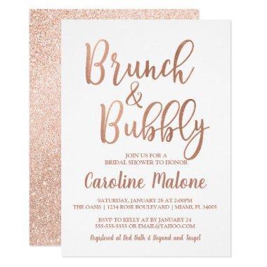 Rose Gold Brunch & Bubbly