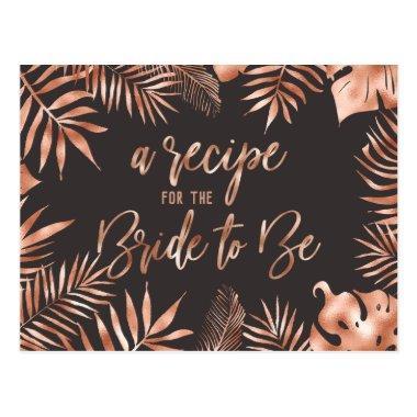 Rose Gold Tropical Leaf  Recipe