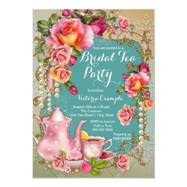 Rose Pearl Bridal Tea Party