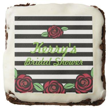 Roses and Stripes  Brownies