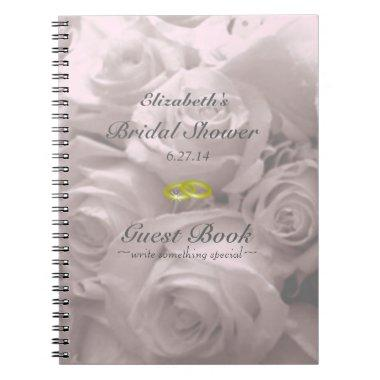 Roses- Guest Book- Notebook