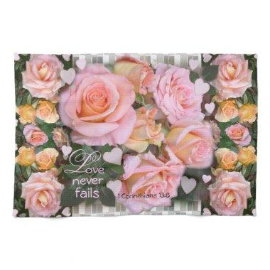 Roses for my Love ~ Kitchen Towel
