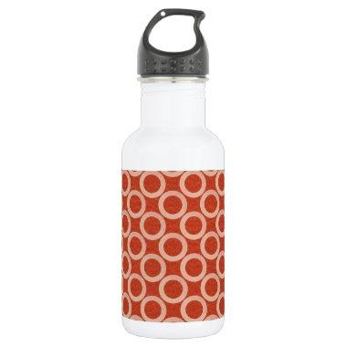 ROYAL Color Circles : Gold n Rich Red Energy Stainless Steel Water Bottle