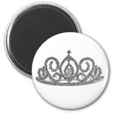 Royal Wedding/Tiaras Magnet