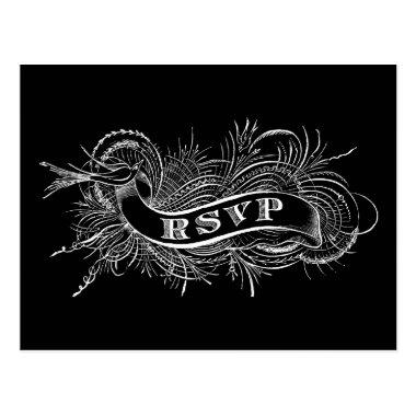 RSVP post with Victorian Bird