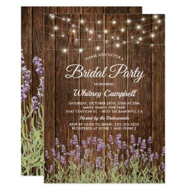 Rustic Country Lavender Lights