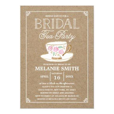 Rustic Modern Bridal Tea Party |