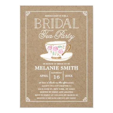 Rustic Modern Bridal Tea Party |