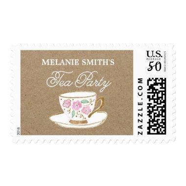 Rustic Modern Bridal Tea Party |  Postage