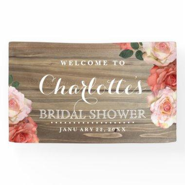Rustic Roses |  Welcome Banner