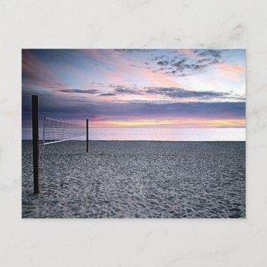 Save The Date Beach Sunset PostInvitations