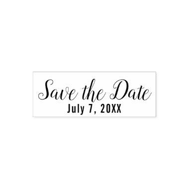 Save the Date Custom Wedding Engagement Self-inking Stamp