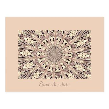 Save the date - Fractal / Mandala Post