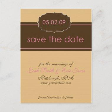 Save the Date PostInvitations TEMPLATE