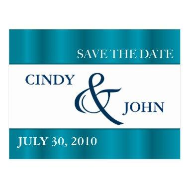 SAVE THE DATE - Teal Post