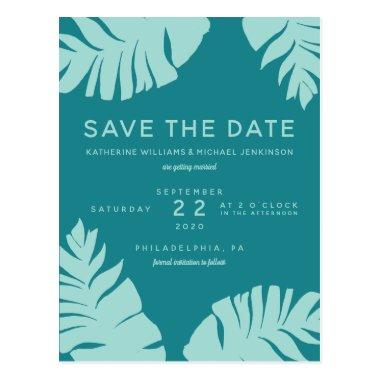 Save The Date | Tropical Wedding PostInvitations
