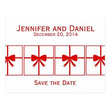 Save the Date Wedding Announcement  Presents