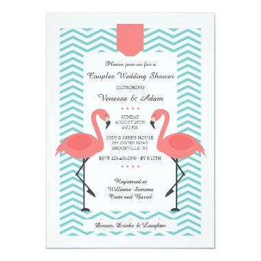 Scarlet Flamingos