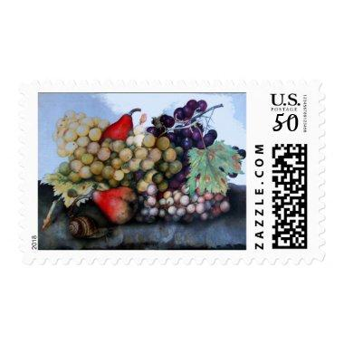 SEASON'S FRUITS 1 - GRAPES AND PEARS POSTAGE
