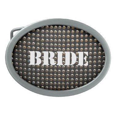 Sequins Bride Belt Buckle
