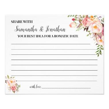 Share a Date Idea for the Happy Couple Shower Invitations