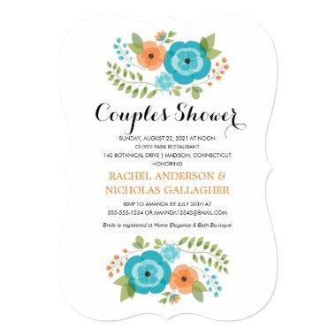 Sheer Summer Flowers | Couples Shower
