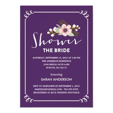 SHOWER THE BRIDE |