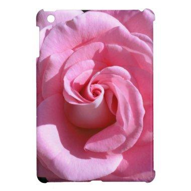 Silky Pink Rose iPad Mini Case