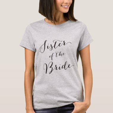 Sister of the bride-1 T-Shirt