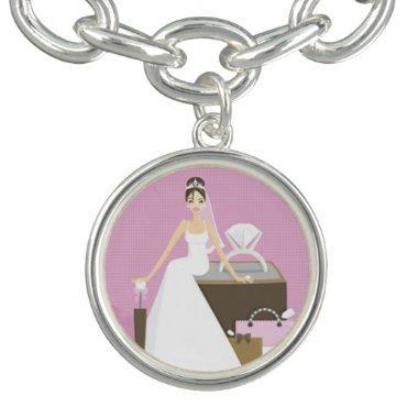 Sitting bride  bracelet