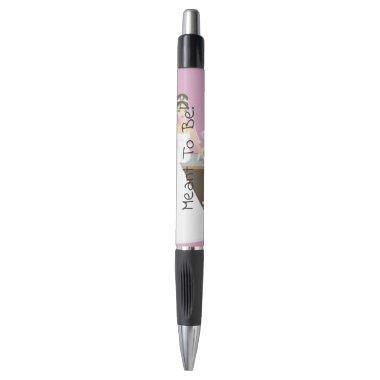 Sitting bride  pen