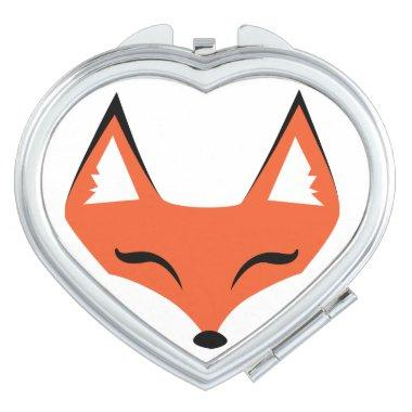 Sly Fox Face Compact Mirror