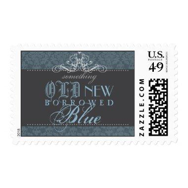 Something Blue Elegant  Postage