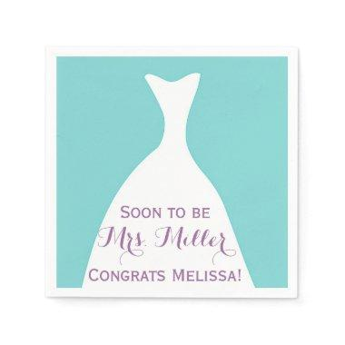 Soon to be Mrs. Bridal Shower Napkins
