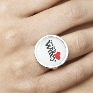 Soon to be Wifey Photo Ring