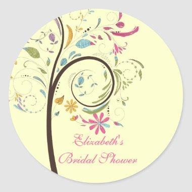 Spring Floral Tree  Sticker